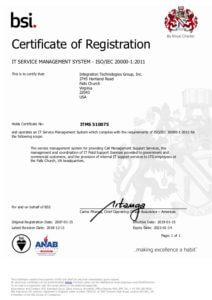 ISO 20000-1 Certification pdf