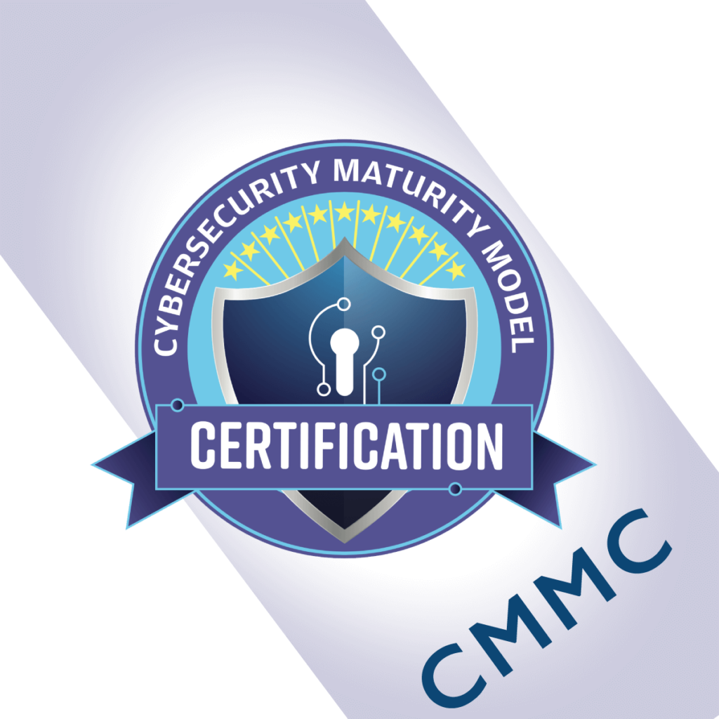 CMMC Cybersecurity Maturity Model Certification Logo
