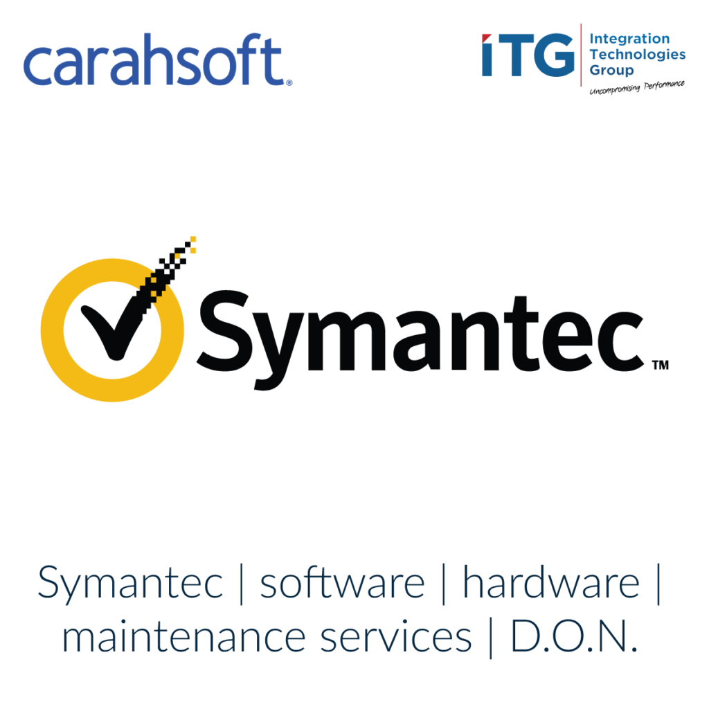 Carahsoft ITG Symantec software