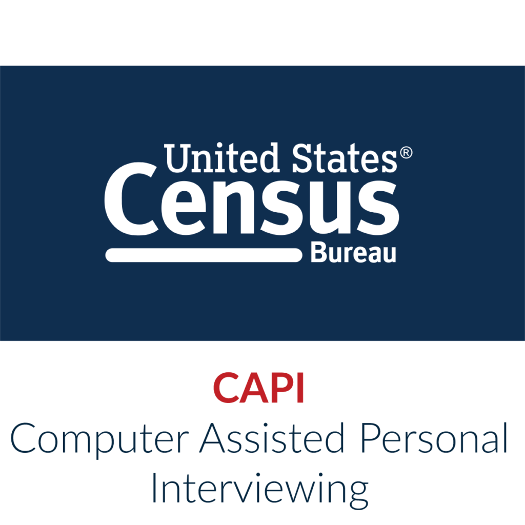 U.S. Census Bureau (USCB) Computer Assisted Personal Interviewing (CAPI) program